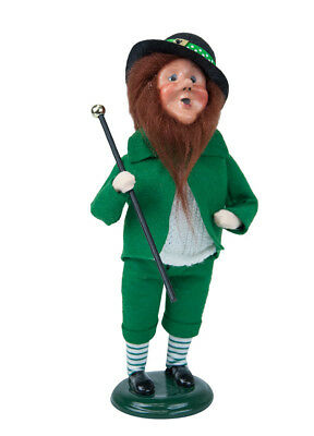 Byers' Choice Carolers St Patrick's Day Leprechaun New 2018