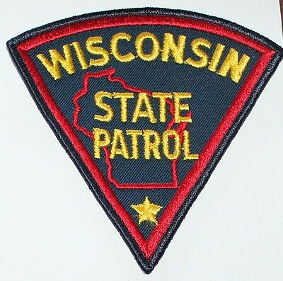 WISCONSIN STATE PATROL WI Troopers Highway Patrol Police patch