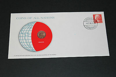 Denmark Coins Of All Nations 1977 5 Ore Coin Unc