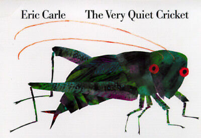 The Very Quiet Cricket Board Book by Eric Carle: New