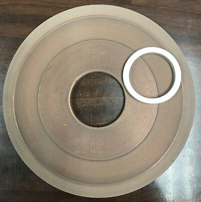New 3M Diamond Grinding Wheel. GEN. IND. DIA. 320 grit 1V1 7 x 1/4 x 2 V=15