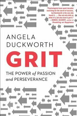 Grit: The Power of Passion and Perseverance by Angela Duckworth: Used