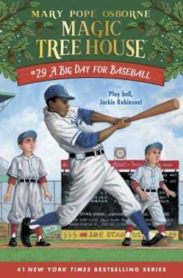 A Big Day for Baseball by Mary Pope Osborne: New