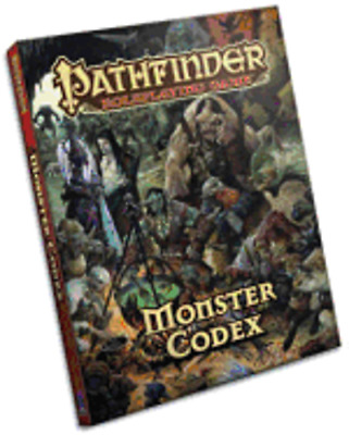 Pathfinder Roleplaying Game: Monster Codex by Jason Bulmahn: Used