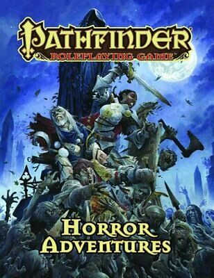 Pathfinder Roleplaying Game: Horror Adventures by Jason Bulmahn: Used