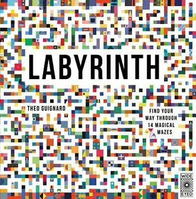 Labyrinth: Find Your Way Through 14 Magical Mazes by Theo Guignard: New
