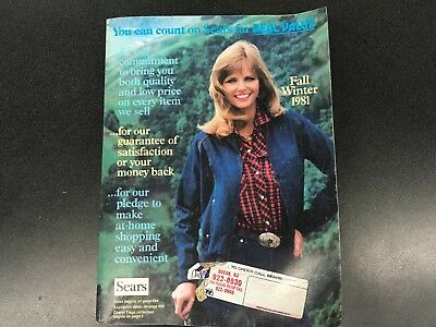 1981 Sears Roebuck & Co. Catalog Fall & Winter, Midwest/Eastern Edition - #4