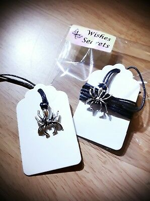 Spider necklace, Gothic, Party favour