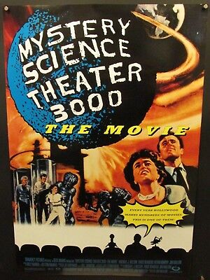 Mystery Science Theater 3000: The Movie Original DS 1sh Poster 1996 Rolled