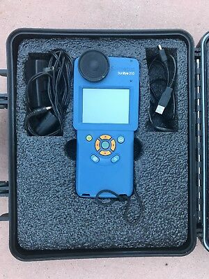 Solmetric SunEye 210 Solar Site Analysis GPS Shade Tool + Case + Charger.