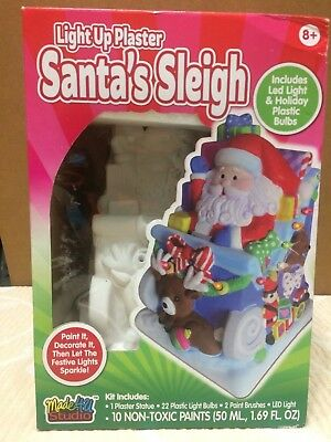 Pier 1 One Imports Christmas SLEIGH RIDES FREE FOR ALL LED Light Up Sign NWT