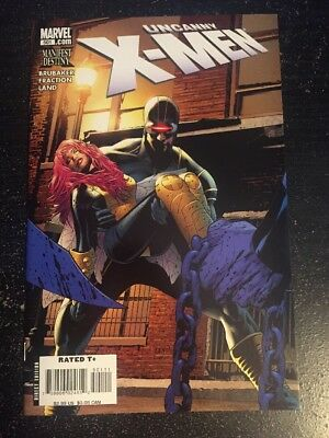Uncanny X-men#501 Incredible Condition 9.4(2008) Greg Land Art, Red Queen!!