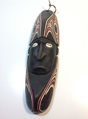 Vintage PNG Hand Carved Wooden Mask Papua New Guinea