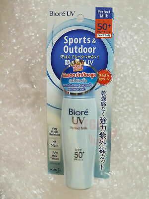 KAO Biore UV block Perfect Milk Lotion Sunscreen SPF 50 Blue 30 ml.