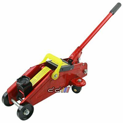 NEW Steel Hydraulic Trolley Floor Jack Car 2 Ton Lifting 140-300MM Low Profile