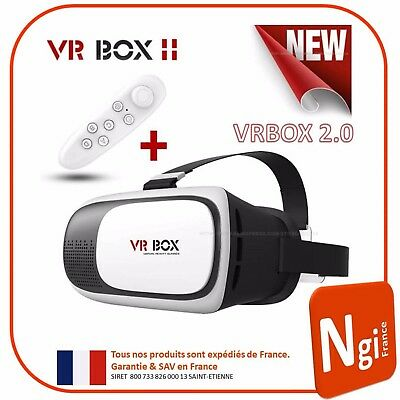 VR Box Version 2.0 Brille Helm virtuelle Realität 3d Fernsteuerung Bluetooth