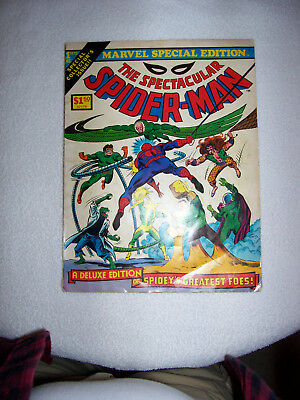 1975 Marvel Special Edition The Spectacular Spider-Man A Deluxe Edition