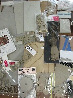 Large Collection Scrapbook Embellishments/Craft Pieces