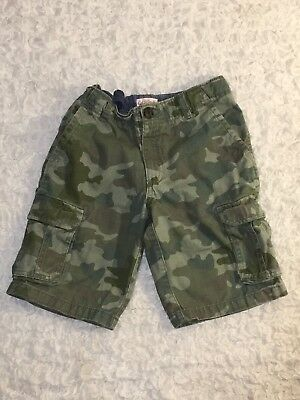 Boys Cat And Jack Camo Shorts - Size 8