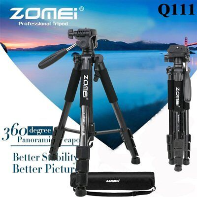 "Zomei 55"" Q111 Professional Heavy Duty Aluminium Tripod&Pan Head for DSLR Came Y"