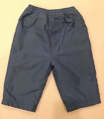 Baby Boy Girl 6M~Snow Pants~Winter Warm~Blue~Fleece Lined~5 Pockets~Soft Comfy