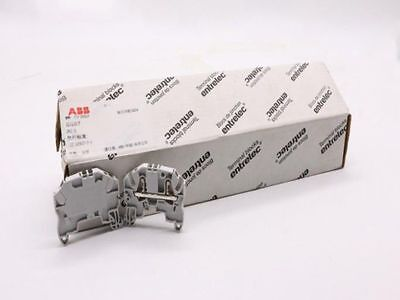 10PCS NEW For ABB ZK2.5 Standard Terminal Block SNAC 2.5mm² #ZMI