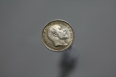 Uk Gb 4 Pence 1905 Silver High Grade A77 #8018