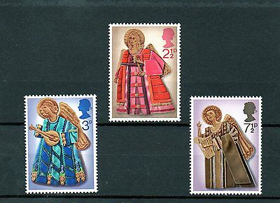 British 1972 Christmas MNH set
