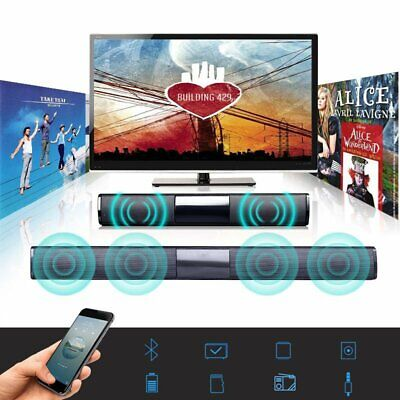 Soundbar TV Speaker Bluetooth Wireless Home Theater Sound Bar HiFi Speaker