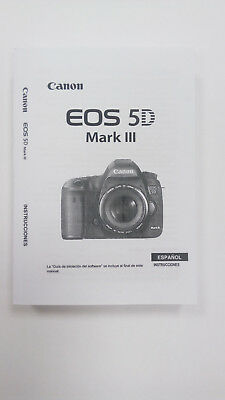 Manual Canon EOS 5D mark III (Castellano)