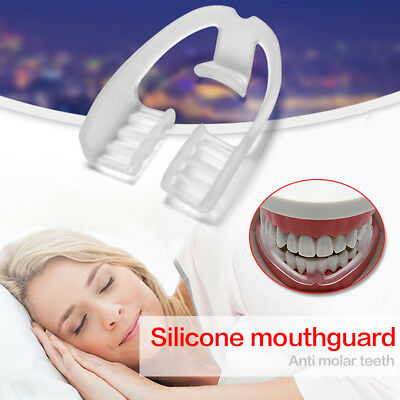 Anti Snore Stop Snoring Apnea Bruxism Night Teeth Grinding Mouthguard Device