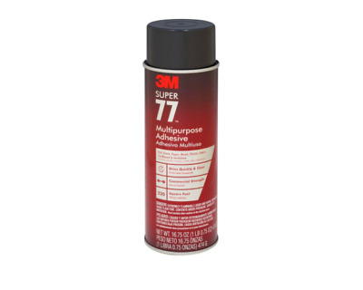 3M Spray Adhesive Bonds Foil Paper Cardboard Fabric Plastic Metal 16.75 fl. oz.