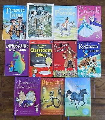 Lot 11 Classics Usborne Young Reading Series Chapter Books Fairy Tales