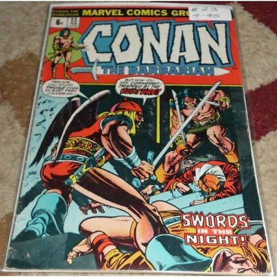 Conan the Barbarian (1970 Marvel) #23...Published February 1973 by Marvel