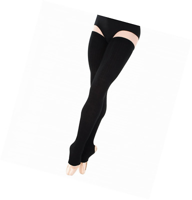 Body Wrappers Womens Leg Warmers - 48 inches (122 cm) extra-long stirrup thigh