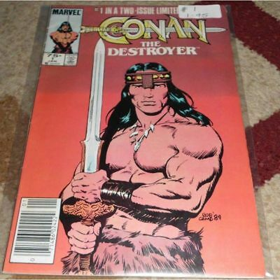 Conan the Destroyer (1985 Movie Comic) #1...Published January 1985 by Marvel