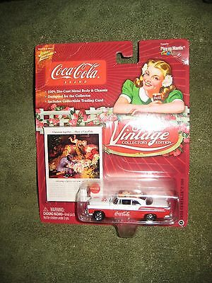 1955 Chrysler 300-C Coca-Cola Car with Collectible Trading Card