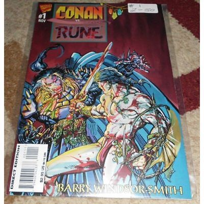 Conan vs. Rune (1995) #1...Published November 1995 by Marvel