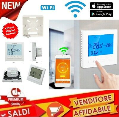 Cronotermostato WIFI Controllo remoto TERMOSTATO IOS ANDROID APPLE CALDAIA GAS