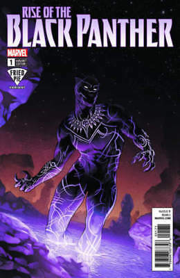 RISE OF THE BLACK PANTHER #1 FRIED PIE VARIANT by JAMAL CAMPBELL IN-HAND SEALED