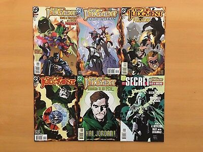 Day of Judgement 1 2 3 4 5 Secret Files Complete Set Lot of 6 1-5 Spectre VF/NM