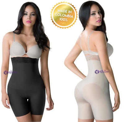 The High Waist Short Fajas Strapless Colombianas Post Surgery Strong Invisible