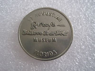 Ripley's Believe It Or Not Museum St. Augustine FL Good Luck Token 0609-5
