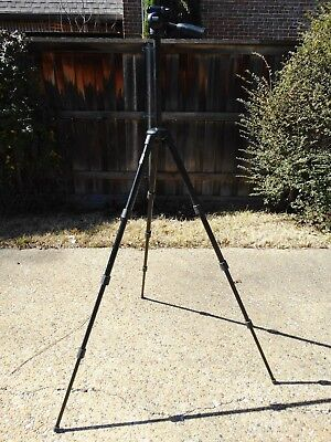 MANFROTTO CAMERA TRIPOD #390 Made in Italy 6ft