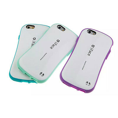 Hot iface Hybrid Durable Shockproof Hard Back Case For iPhone X SE 6 6s 7 8 Plus