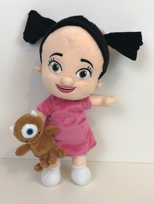 """Disney Store Monsters Inc Boo Plush Soft Toy Doll, 13"""""""