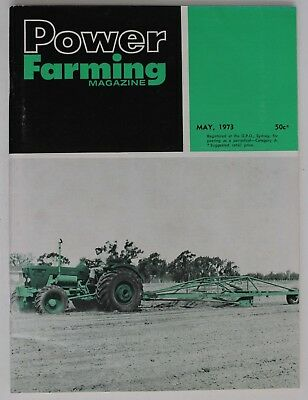 VINTAGE Agriculture: Power Farming Magazine May 1973, Vol 82 No 5