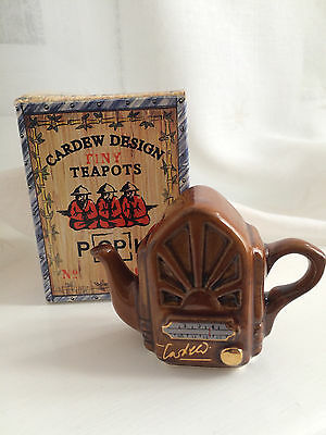 Collectable Cardew Design Tiny Teapot - Vintage Radio