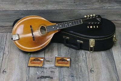 VINTAGE! Gibson Model A-1 Mandolin 1918 Natural! 100 Years Old!
