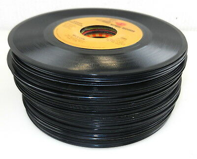 """Lot of """"40"""" 45 RPM Vinyl Records JUKEBOX ~ 1960's 1970's Various Artists  a  S14"""
